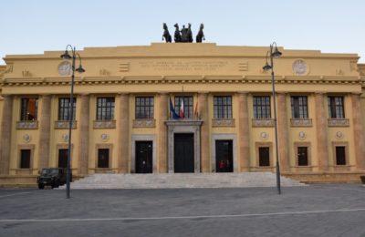 Il Palazzo di Giustizia di Messina